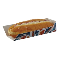 Union Jack Small Tray, single side opening Union, Jack, hot, dog, Tray, Flag, English