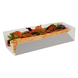 Small Tray, single side opening (white)
