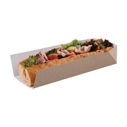 Open Ended Tray (kraft)