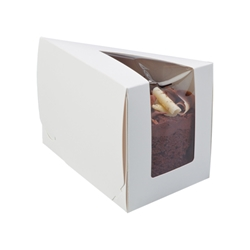 Large Piece o Cake wedge (white)