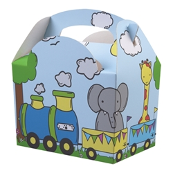 Animal Parade paperboard box with handle
