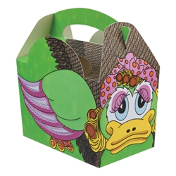 Creature paperboard box with handle