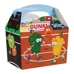 Sports Fruit paperboard box with handle