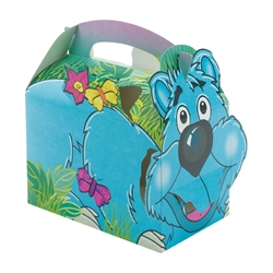 Jungle Lion paperboard box with handle