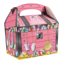Pink Pirates party box