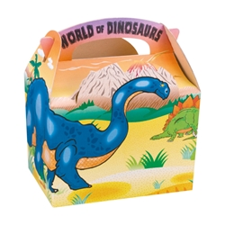 World of Dinosaurs Paperboard Box With Handle