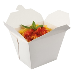 Square Multi-food Carton (white)