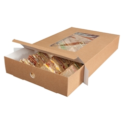 Large Platter Box with Full Tray Insert