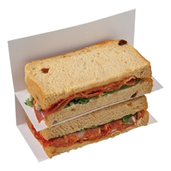 Sandwich bag insert (white)