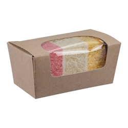 Small cake box (kraft)
