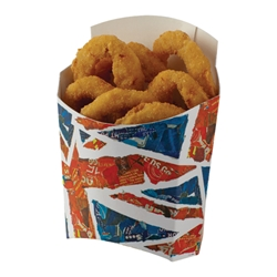 Union Jack Large Scoop Union, Jack, Chippy, Tray, Fries, Scoop, Flag, English