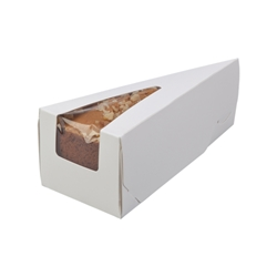 Small Piece O Cake Wedge, white
