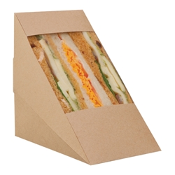 Large Sandwich Pack, Rear Loading (kraft)