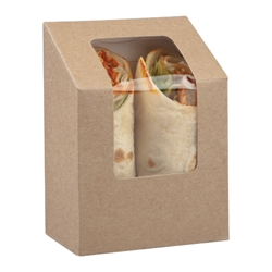 Tuck-top wrap pack (kraft)