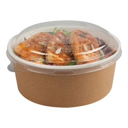 Kraft Multi-food pot & PET lid 700ml