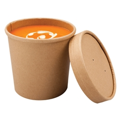 Microwavable Souper Cup and Lid, 350ml
