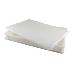 Dough Box 60X40X7.5cm 14Lt Cap White (Each) Dough, Box, 60X40X7.5cm, 14Lt, Cap, White, Nevilles
