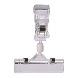 Display Clip Adjustable Arm (Pk 5) 10X8cm (Each) Display, Clip, Adjustable, Arm, Pk, 5, 10X8cm, Nevilles