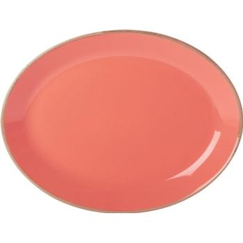 "Coral Oval Plate 30cm/12"" (Pack of 6)"