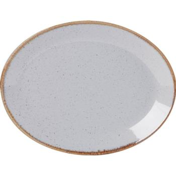 "Stone Oval Plate 30cm/12"" (Pack of 6)"