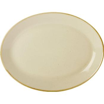 "Wheat Oval Plate 30cm/12"" (Pack of 6)"