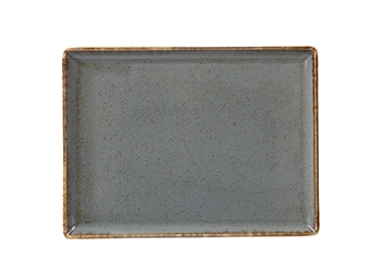 "Storm Rectangular Platter 27 x 21cm / 10  2/3"" x 8  1/4"" (Pack of 6)"