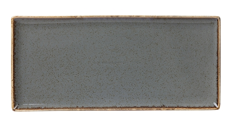 "Storm Rectangular Plate 35 x 15.5cm / 13  3/4"" x 6"" (Pack of 6)"