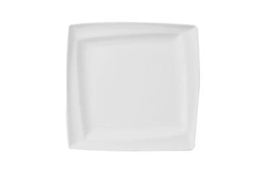 "Academy Asymmetric Plate 30cm/11.75"" (Pack of 6)"