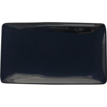 Black Rectangular Plate 35x21cm (Pack of 4)