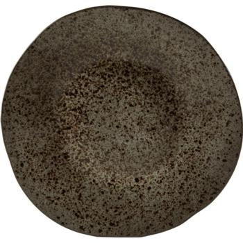 Black Ironstone Plate 28.5cm (Pack of 6)