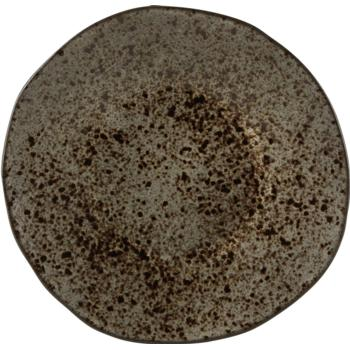 Black Ironstone Plate 21cm (Pack of 6)