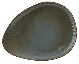 Fern Reactive Oval Plate 34cm (Pack of 4)
