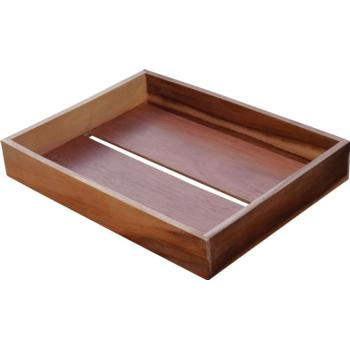 Acacia Display Tray 40x30x6cm (Pack of 1)