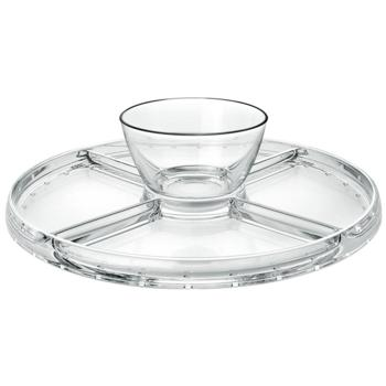 Palladio 4 in 1 Cake Stand & Dip (Pack of 1)