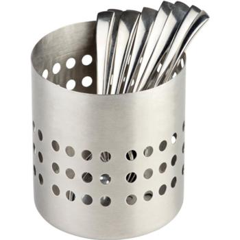 S/S Matt Finish Cutlery Basket 10cm (Pack of 1)