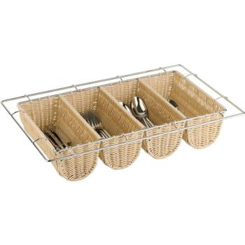 Poly Rattan Cutlery Basket (Pack of 1)