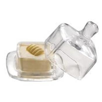 Square Butter Dish 9cm (Pack of 1)