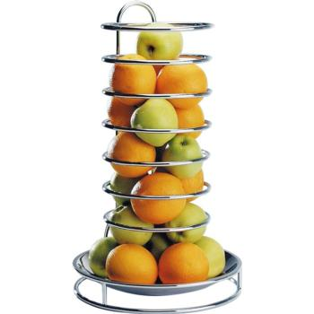 Chrome Plated Fruit/Buffet Stand with S/S Bowl (Pack of 1)