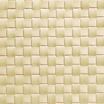 Table Mat Wide Band 45x33cm Beige Pack of 6 (Pack of 6)
