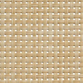 Table Mat Narrow Band 45x33cm Beige Pack of 6 (Pack of 6)