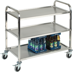 3 Tier S/S Serving Trolley (Pack of 1)
