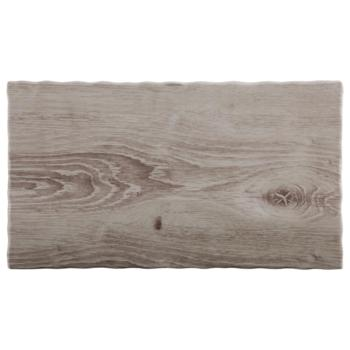 Melamine ?Wood? Tray 32.5 x 17.6cm (Pack of 1)