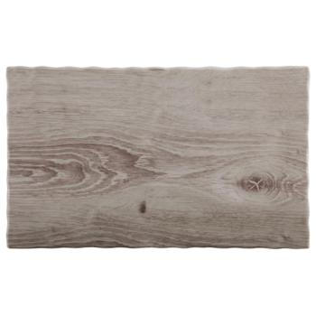 Melamine ?Wood? Tray 26.5 x 16.2cm (Pack of 1)