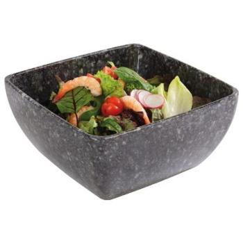 """Pure Granite"" Melamine Bowl 19x19cm (Pack of 1)"