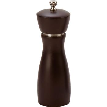 Pepper Mill 6? Rubber Wood S/S with Carbon Steel Grinder (Pack of 1)