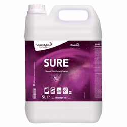 Diversey - SURE Cleaner Disinfectant Spray Refill (2x5L Pack)