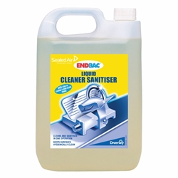 Endbac Cleaner Sanitiser 2x5L GB