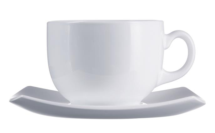 Delice Blanc Cup & Saucer (12 of Each) 7.7oz 22cl (24 Pack) Delice, Blanc, Cup, &, Saucer, (12, of, Each), 7.7oz, 22cl
