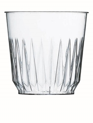 Plastic Fluted Tumbler 8.8oz 25cl (700 Pack) Plastic, Fluted, Tumbler, 8.8oz, 25cl