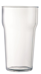 Plastic Tumbler (CE To Brim) 10oz 29cl (100 Pack) Plastic, Tumbler, (CE, To, Brim), 10oz, 29cl
